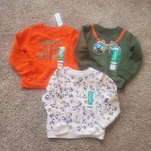NWT Baby boy 24 month sweatshirt bundle